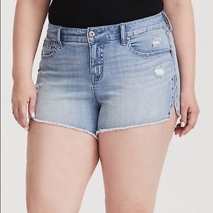 Torrid Shorts with Grommets